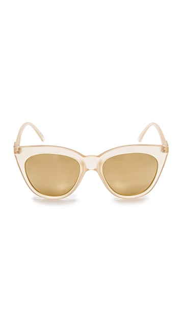 Le Specs Half Moon Magic Polarized Sunglasses