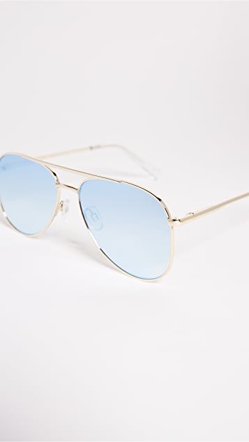 Le Specs Kingdom Aviator Sunglasses