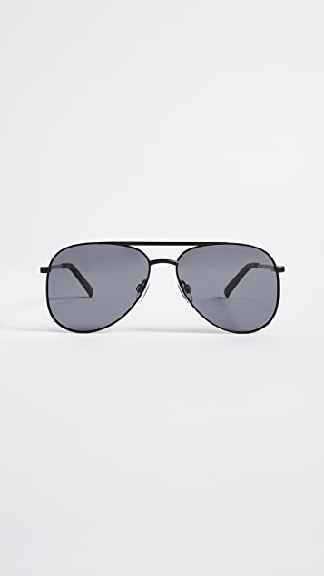 Le Specs Kingdom Aviator Polarized Sunglasses
