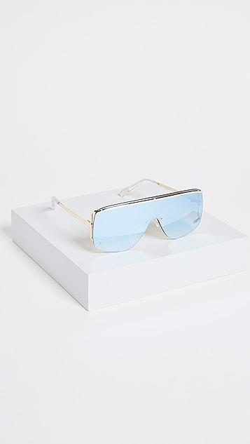 Le Specs Elysium Flat Top Sunglasses