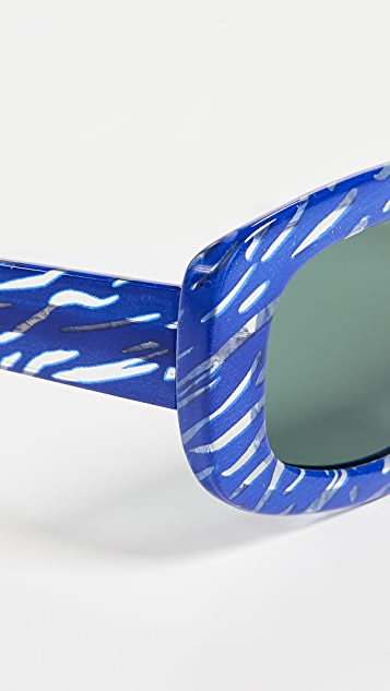 Le Specs x Double Rainbouu Five Star Sunglasses