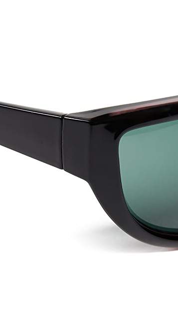 Le Specs x Double Rainbouu Night Crawl Sunglasses