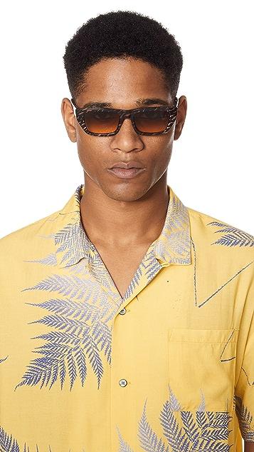 Le Specs x Double Rainbouu Cold Wave Sunglasses