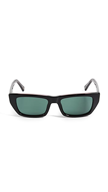 Le Specs x Double Rainbouu Cold Wave Sunglasses