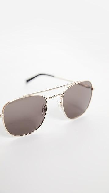 Le Specs Harlem Hustler Aviator Sunglasses