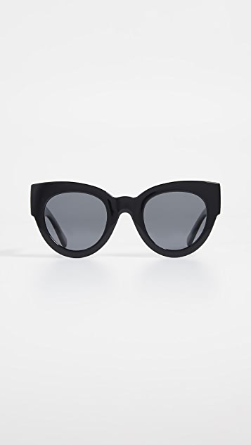 Le Specs Matriarch Sunglasses - Black