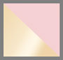 яркое золото/розовый с плавными переходами цвета