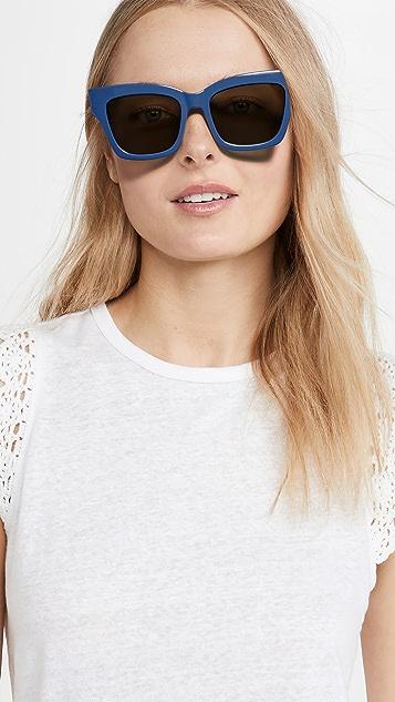 Le Specs x Solid & Striped Georgica Sunglasses