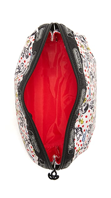 LeSportsac Peanuts x LeSportsac Medium Dome Cosmetic Case