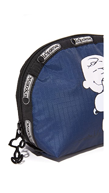 LeSportsac Peanuts x LeSportsac Medium Dome Cosmetic Case