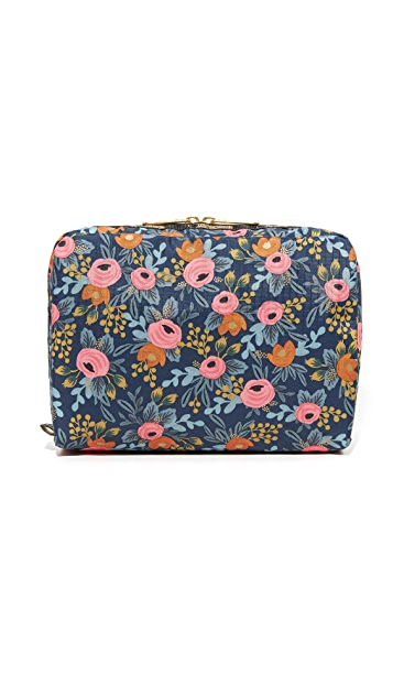 LeSportsac x Rifle Paper Co. Extra Large Rectangular Cosmetic Case