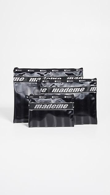 LeSportsac x MadeMe Clutch Trio