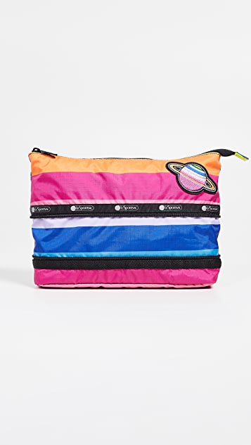 LeSportsac Expandable Large Cosmetic Case