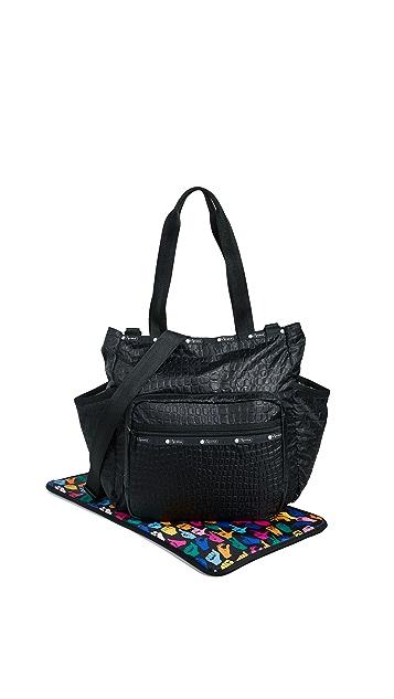 LeSportsac Janis Diaper Bag Tote