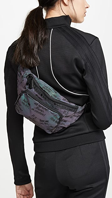 LeSportsac x Baron von Fancy Flash Reflective Belt Bag
