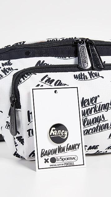 LeSportsac x Baron von Fancy Belt Bag