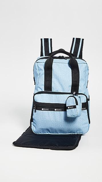 LeSportsac Madison Diaper Backpack