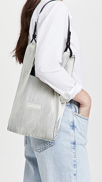 LASTFRAME Two Tone Market Bag Small