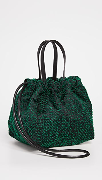 LASTFRAME Needle Punch Kinchaku Bag Small