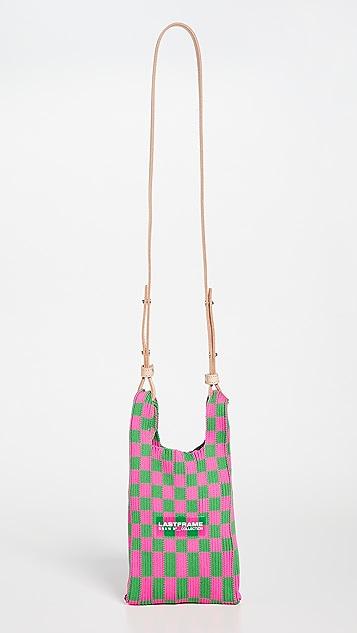 LASTFRAME Ichimatsu Mini Market Bag