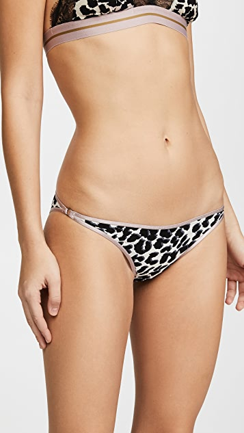 LOVE Stories Shelby Panties - Leopard Grisaille