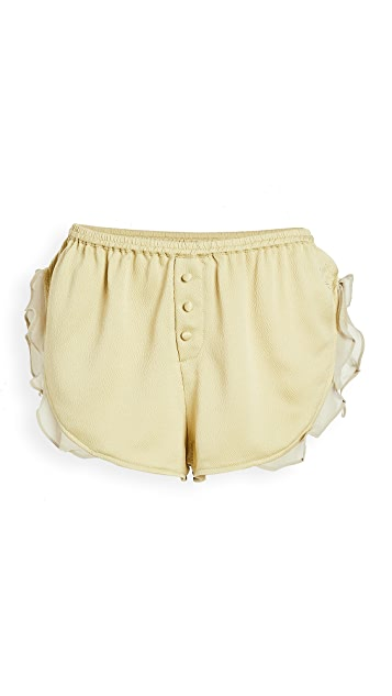 LOVE Stories Mae Lime Shorts