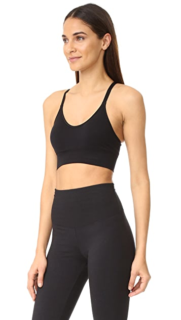 Lucas Hugh Core Technical Knit Adjustable Sports Bra