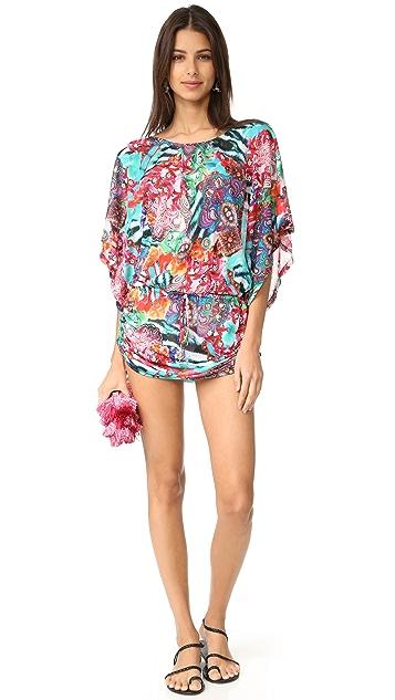 Luli Fama Like a Flame South Beach Dress