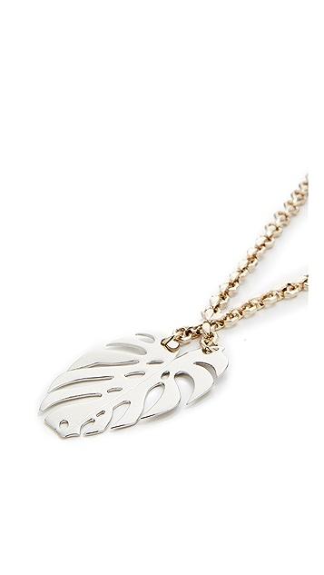 Lulu Frost Botanica Long Pendant Necklace