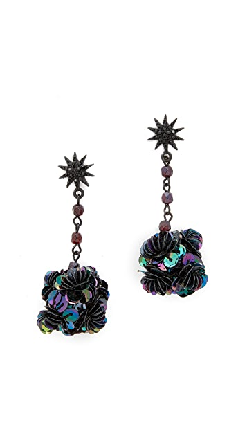 Lulu Frost Rose Earrings