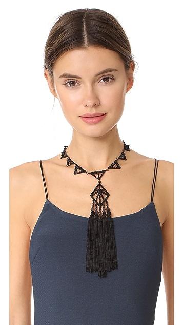 Lulu Frost Helena Tassel Necklace