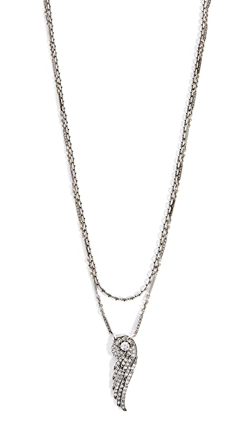 Lulu Frost Aviation Layered Pendant Necklace