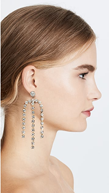 Lulu Frost Statement Crystal Earrings