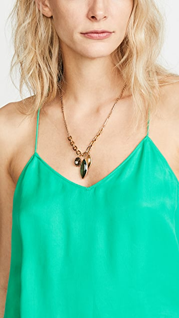 Lulu Frost Olympic Leaves Pendant Necklace