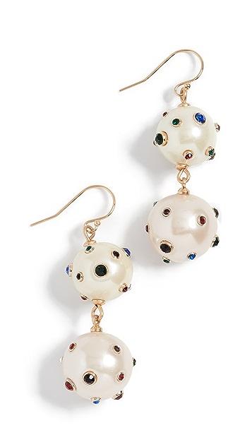 Lulu Frost Boboli Double Drop Earrings