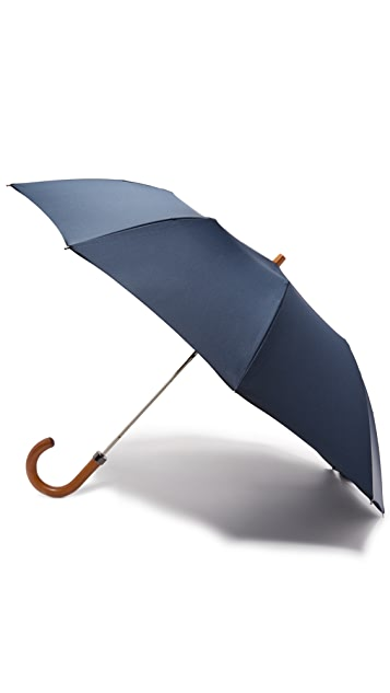 London Undercover Telescopic Umbrella with Maple Handle