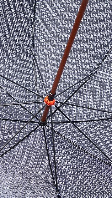 London Undercover Stick Umbrella with Contrast Interior