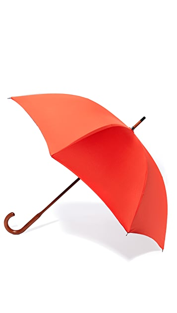 London Undercover Contrast Interior Stick Umbrella