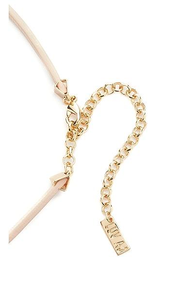 Luv Aj Charm Choker Necklace