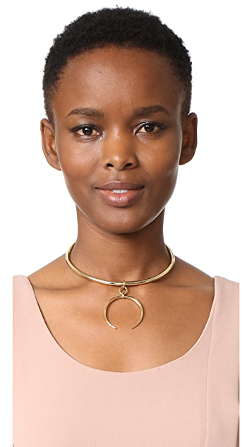 Luv Aj The Crescent Collar Necklace