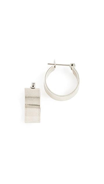 Luv Aj Positano Hoop Earrings