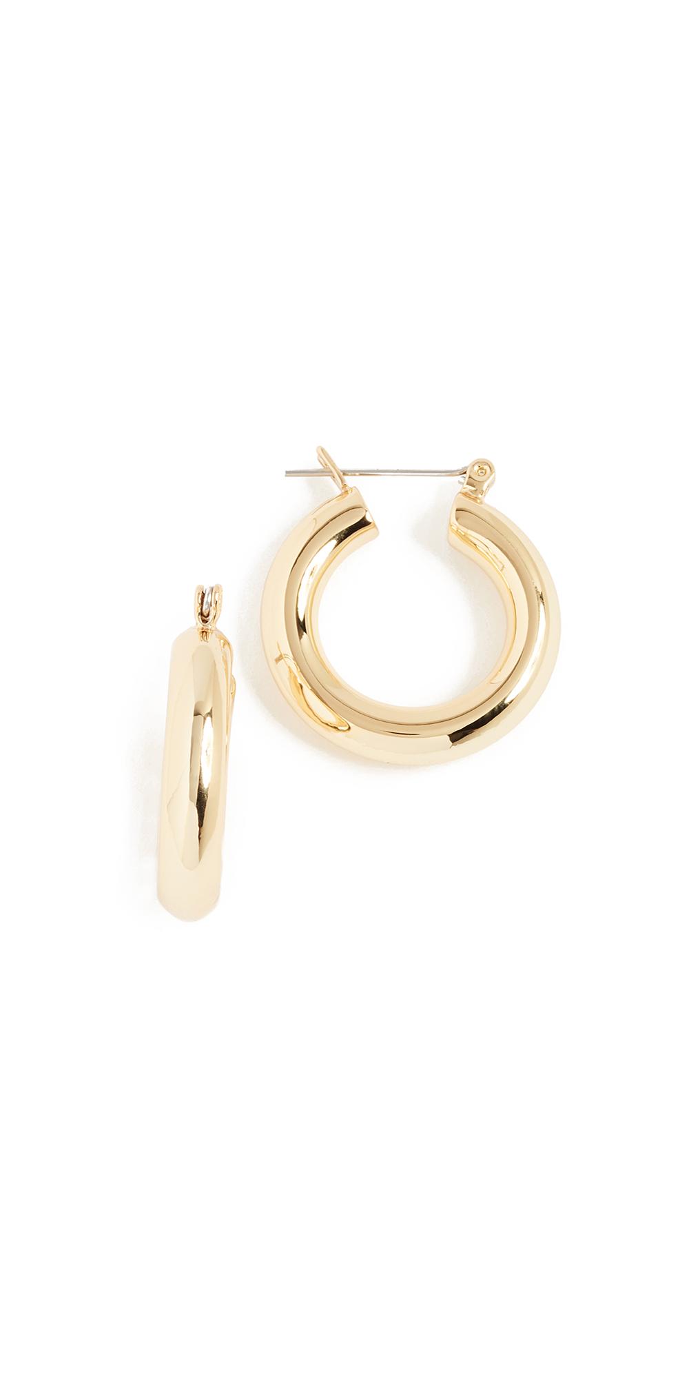 Baby Amalfi Tube Hoop Earrings