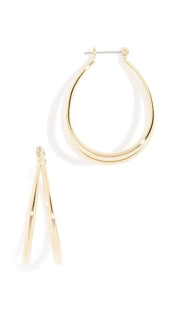 Luv Aj Florence Hoop Earrings