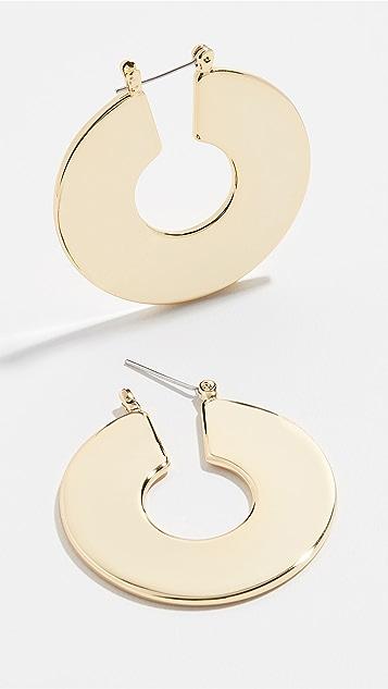 Luv Aj Donatella Hoop Earrings