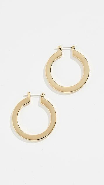 Luv Aj Celine Hoop Earrings