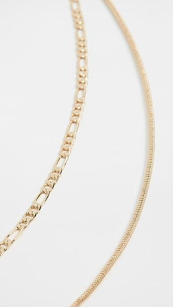 Luv Aj Cecilia Chain Necklace