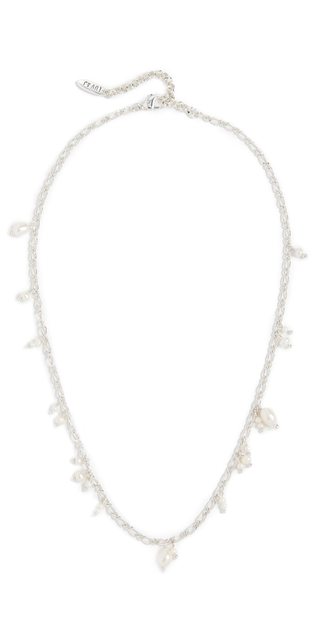 Pearl Drop Charm Necklace
