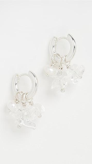Luv Aj Rock Candy 珍珠贴耳耳环