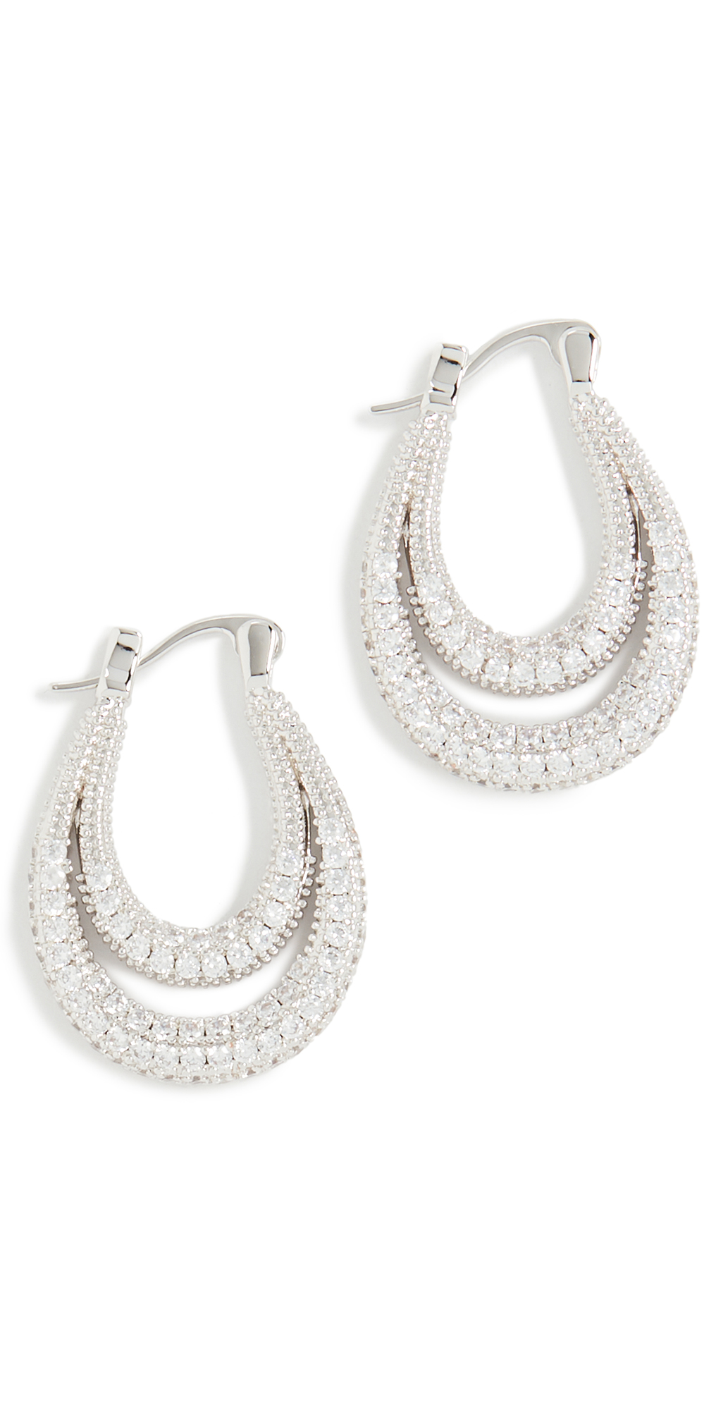 Pave Dolly Hoops