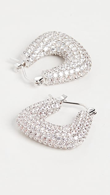 Luv Aj Pave Tia 圈式耳环